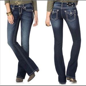 Miss Me bootcut jeans style JP5014 size 26